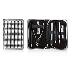 Mood - Silver crystal manicure set
