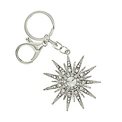 Mood - Crystal star keyring