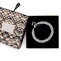 Mood - Silver crystal stone bracelet