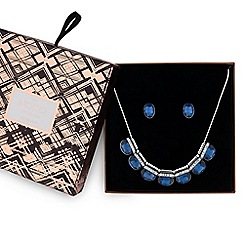 Mood - Blue crystal allway jewellery set