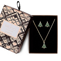 Mood - Christmas tree jewellery set in a gift box