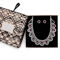 Mood - Crystal diamante jewellery set in a gift box