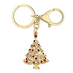 Mood - Crystal christmas tree keyring