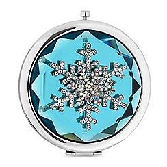 Mood - Crystal snowflake compact mirror