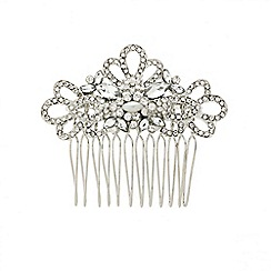 Mood - Diamante crystal vintage style hair comb