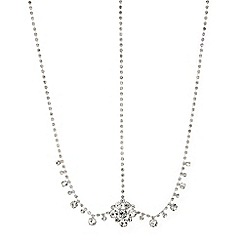 Mood - Crystal flower and diamante hair chain