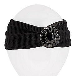 Mood - Online exclusive jet turban style headband