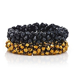 Mood - Beaded stretch ponio hair tie