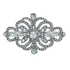 Mood - Pearl and crystal ornate hair clip