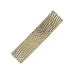 Mood - Gold textured hair clip