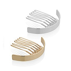 Mood - Curved hair comb set