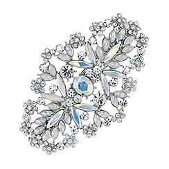 Mood - Aurora borealis crystal hair clip