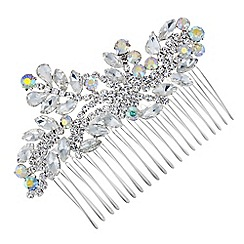 Mood - Aurora borealis crystal spray hair comb
