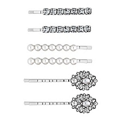 Mood - Ornate crystal hair slide set