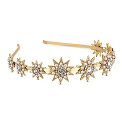 Mood - Pearl and crystal star headband