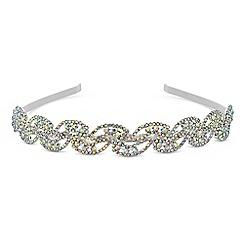 Mood - Aurora borealis crystal headband