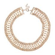 Online exclusive statement gold chain collar necklace