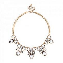 Mood - Modern mix stone drop necklace