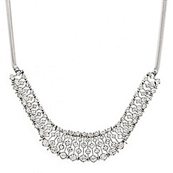 Mood - Crystal stone set bar necklace