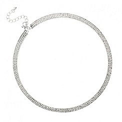 Mood - Online exclusive diamante crystal choker necklace