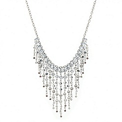 Mood - Pearl and bead shower drop necklace