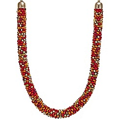 Mood - Chunky beaded tribal necklace