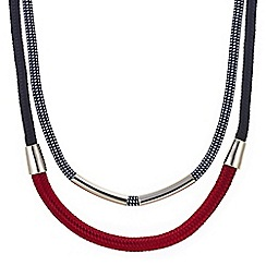 Mood - Plaited double rope necklace