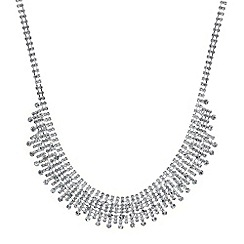 Mood - Crystal stick collar necklace