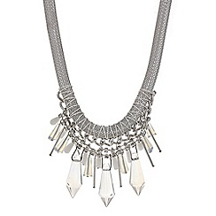 Mood - Crystal shard collar necklace