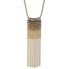 Mood - Beaded chain statement necklace