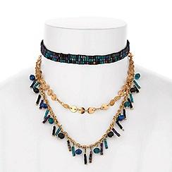 Mood - Beaded choker necklace