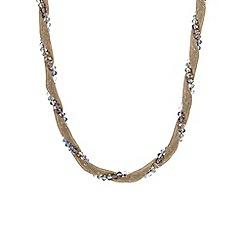 Mood - Green beaded twist allway necklace