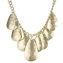 Mood - Layered teardrop necklace