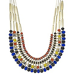 Mood - Beaded collar necklace