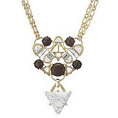 Mood - Howlite statement necklace