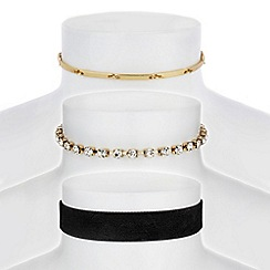Mood - Crystal diamante choker set