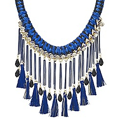 Mood - Fringed statement necklace