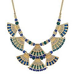 Mood - Fan collar necklace
