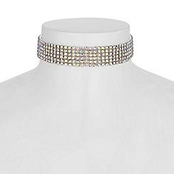 Mood - Aurora borealis choker necklace