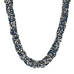 Mood - Beaded twist necklace