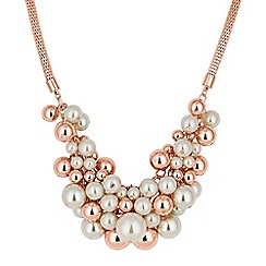 Mood - Pearl cluster necklace