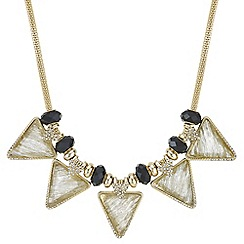 Mood - Triangle crystal shimmer necklace