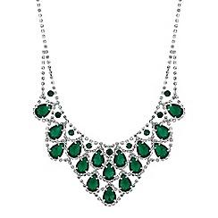 Mood - Crystal diamante bib necklace