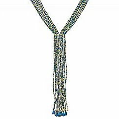Mood - Beaded lariat necklace