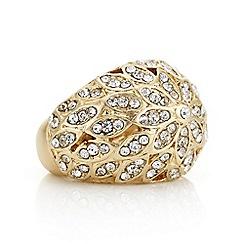 Mood - Gold crystal ring