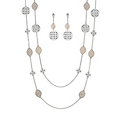 Mood - Two tone filigree jewellery set