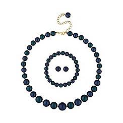 Mood - Tonal green pearl jewellery set