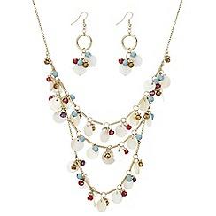 Mood - Shell charm jewellery set