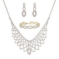 Mood - Gold diamante jewellery set