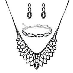 Mood - Blue diamante jewellery set